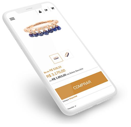 Design Responsivo Mobile Loja Virtual Eshop